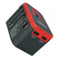Fujitsu 4 Ports 旅行充電器快充版 TA100-PD