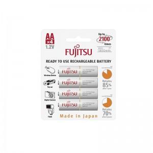 Fujitsu Recharge Battery 1900mAh AAx4pcs