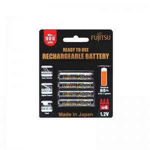 Fujitsu Recharge Battery 900mAh (AAAx4pcs)