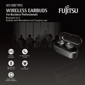 Fujitsu True Wireless Earbuds M310BT Pro
